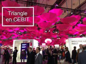 Triangle en CEBIT 2015