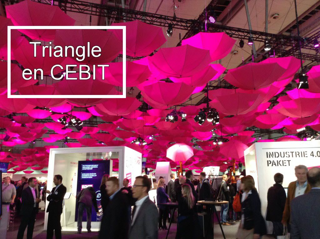 Triangle en CEBIT 2015
