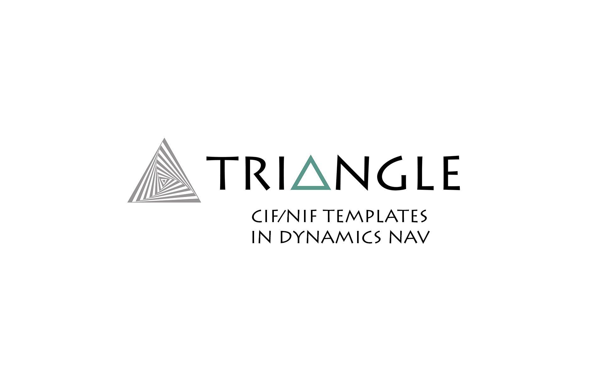 CIF NIF templates Dynamics NAV