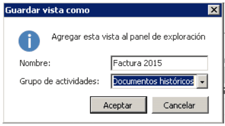 Guardar visualización ventana Dynamics NAV 3