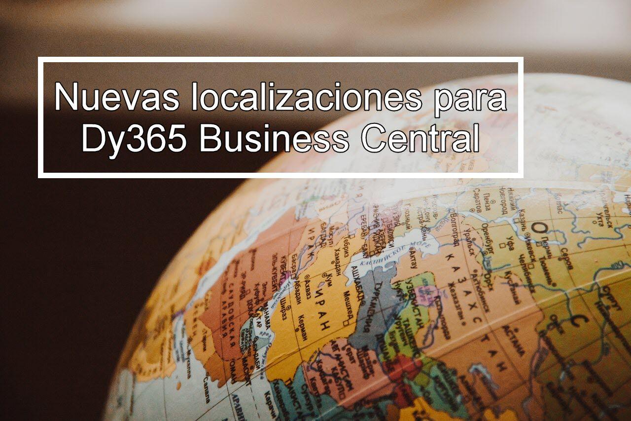 Localizaciones Business Central