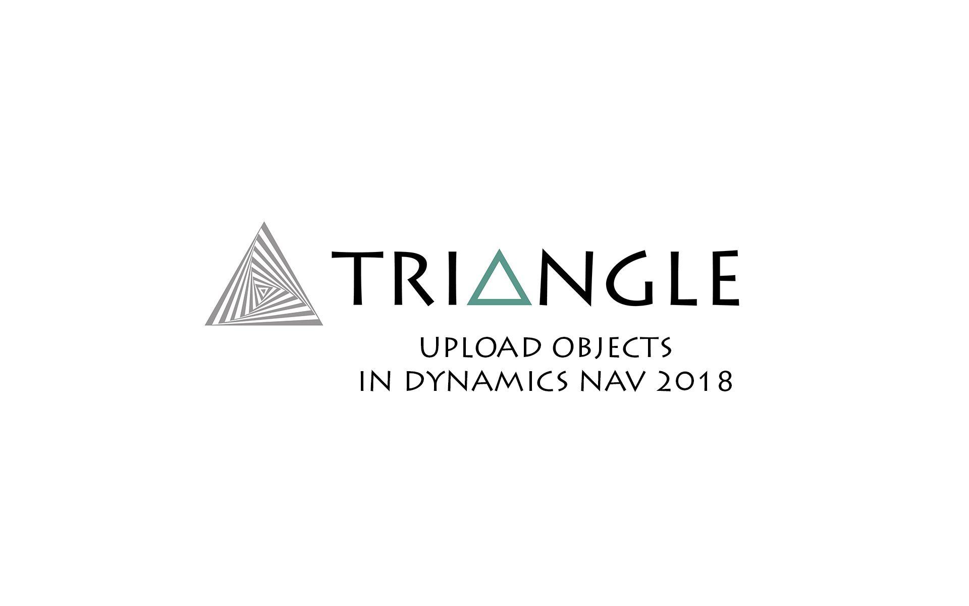 Upload Objects Dynamics NAV 2018