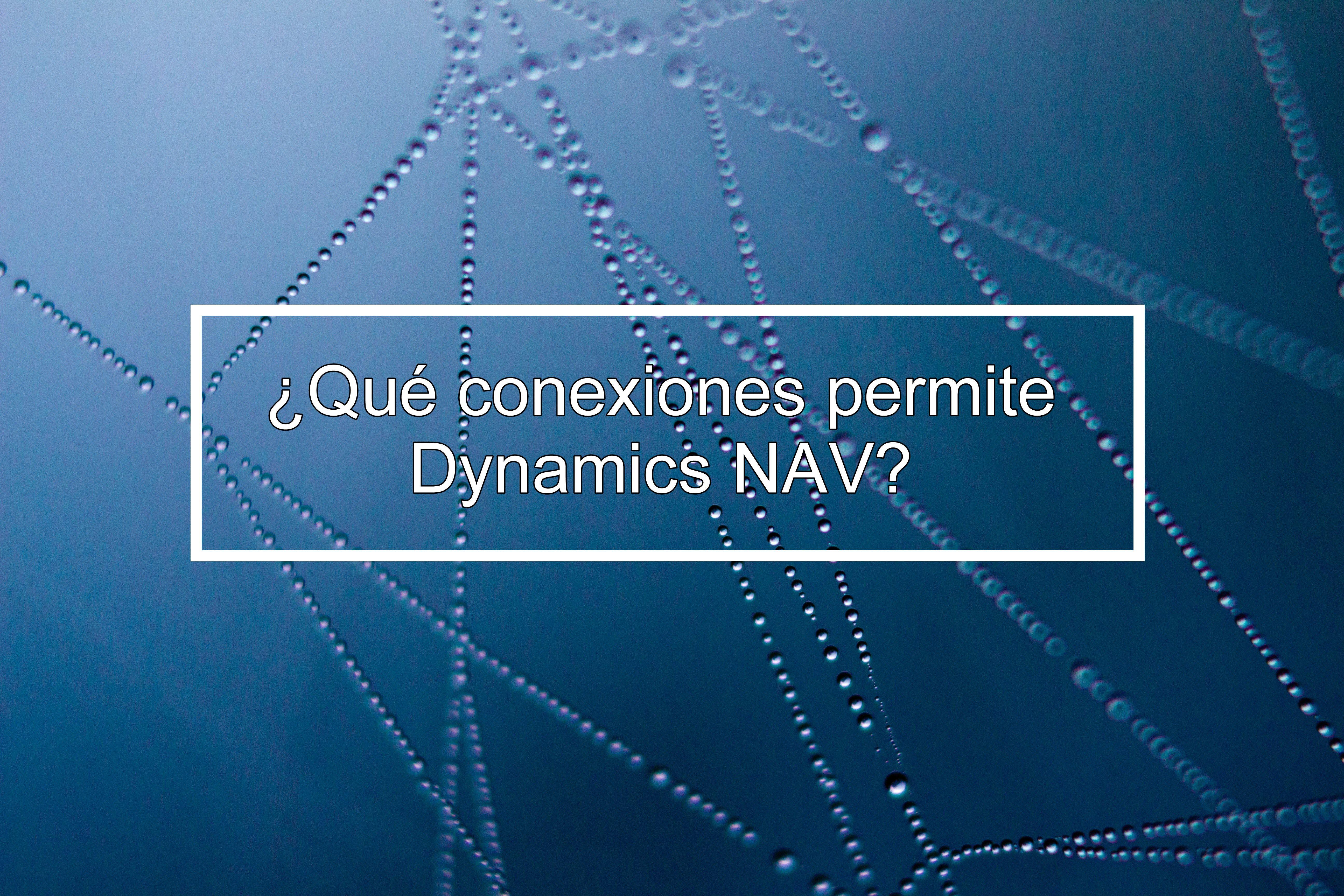 conexiones Dynamics NAV