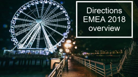 Directions EMEA 2018 overview