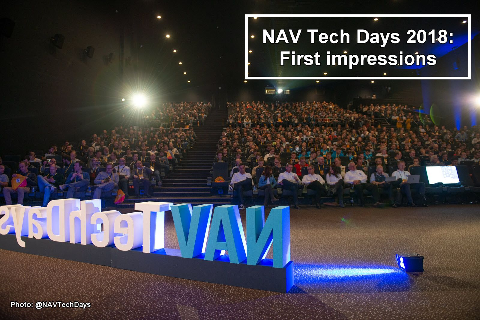 Nav Tech Days 2018 impressions