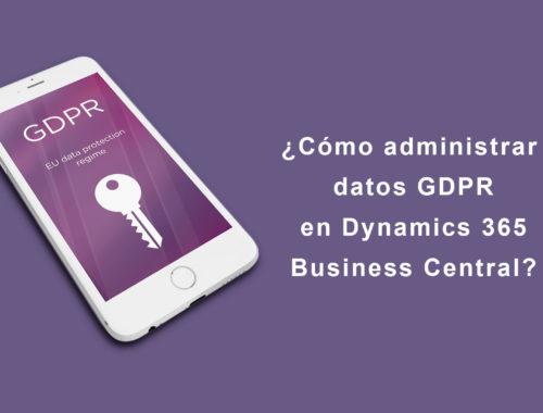 GDPR Dynamics 365