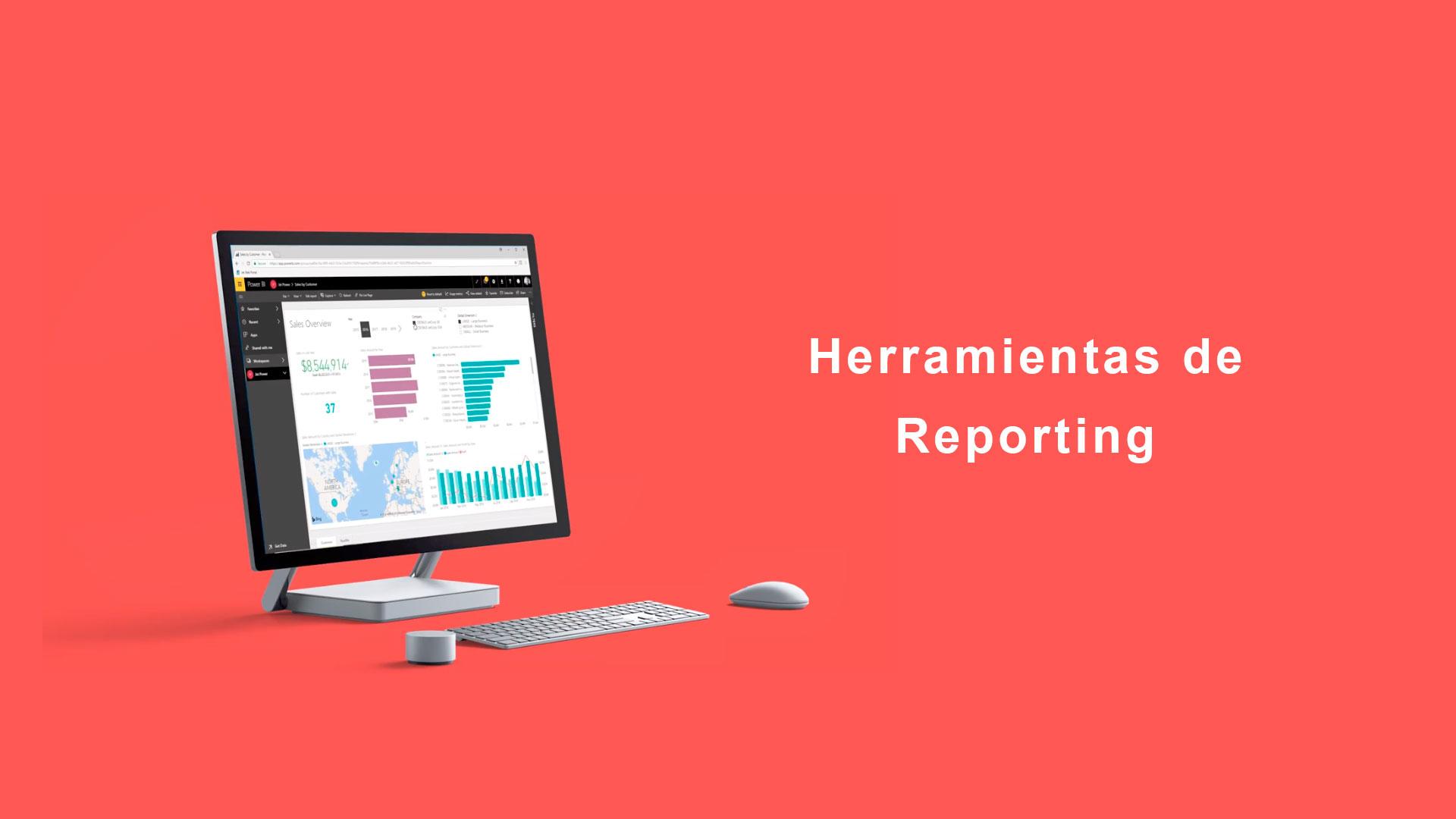 heramientas de reporting