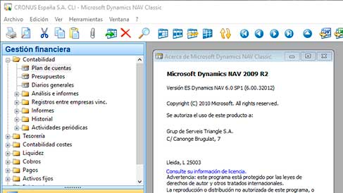 Dynamics NAV example2